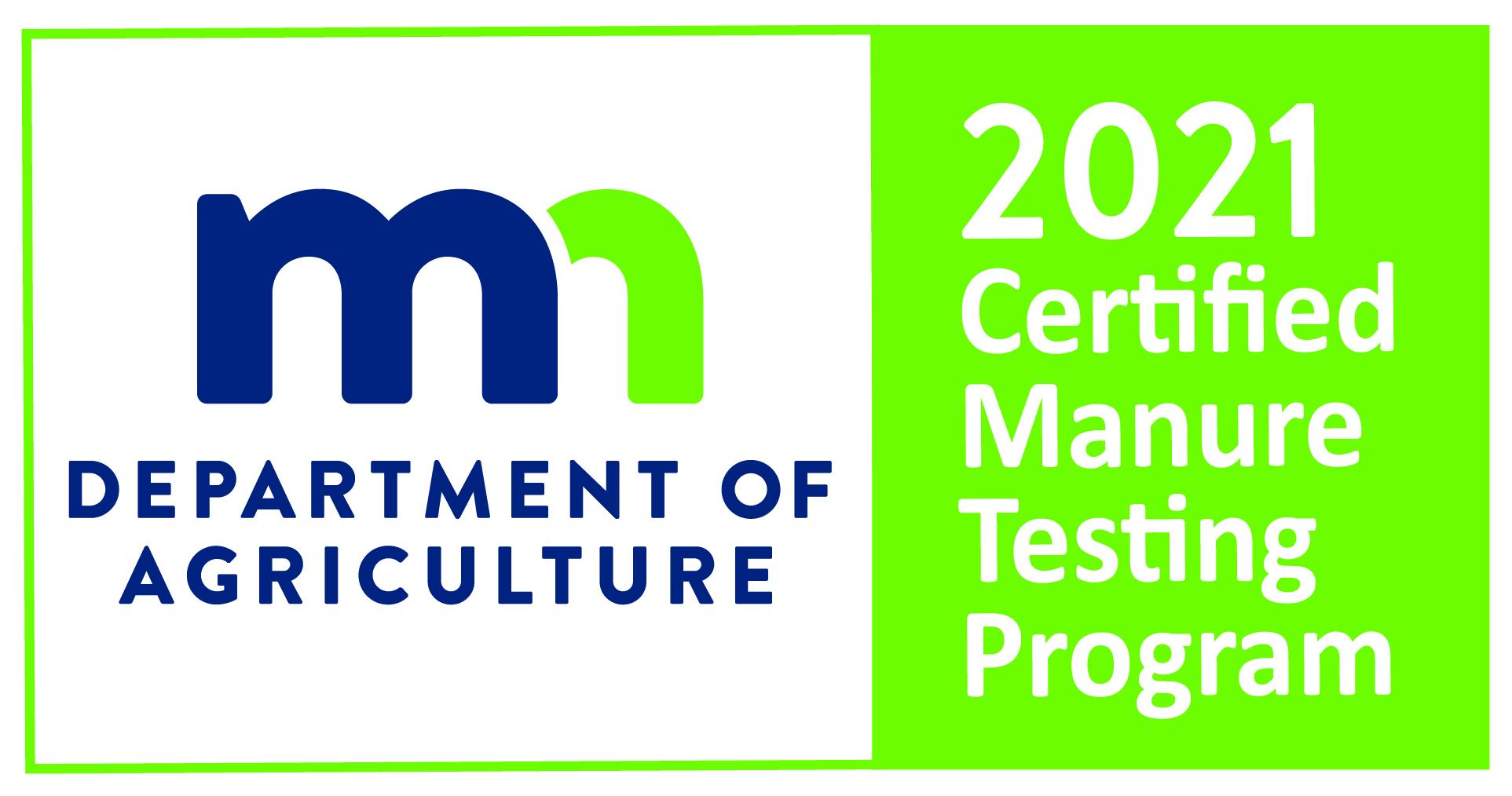 Minnesota Department of Ag Manure Proficiency